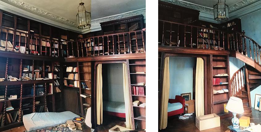 biblioth que ancienne du xix si cle. Black Bedroom Furniture Sets. Home Design Ideas