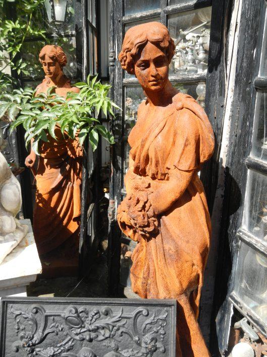 Statue en fonte 4 saisons