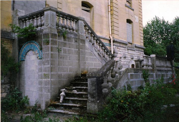 balustrade coté chateau